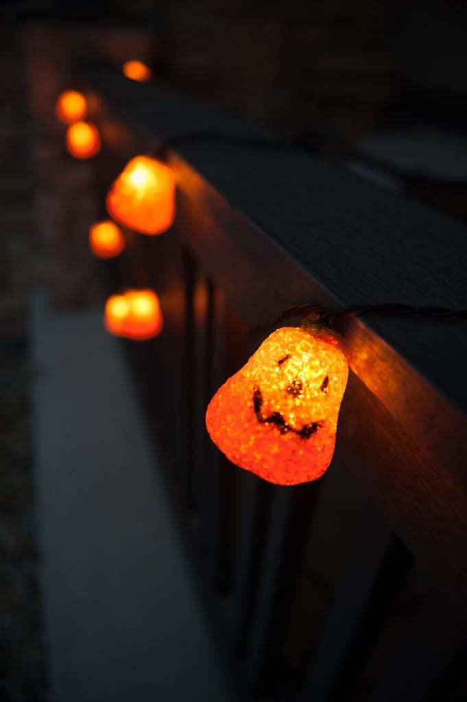 Glowing Pumpkin light strand