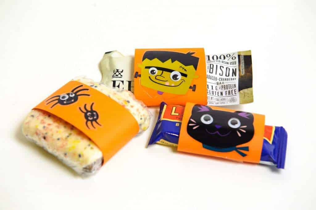 3 Ways to Make Halloween Exciting for Your Paleo Kid - Idea # 1 Fun Wrappers