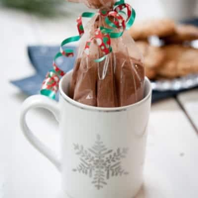 Paleo Hot Chocolate pre-made mix by Thriving On Paleo