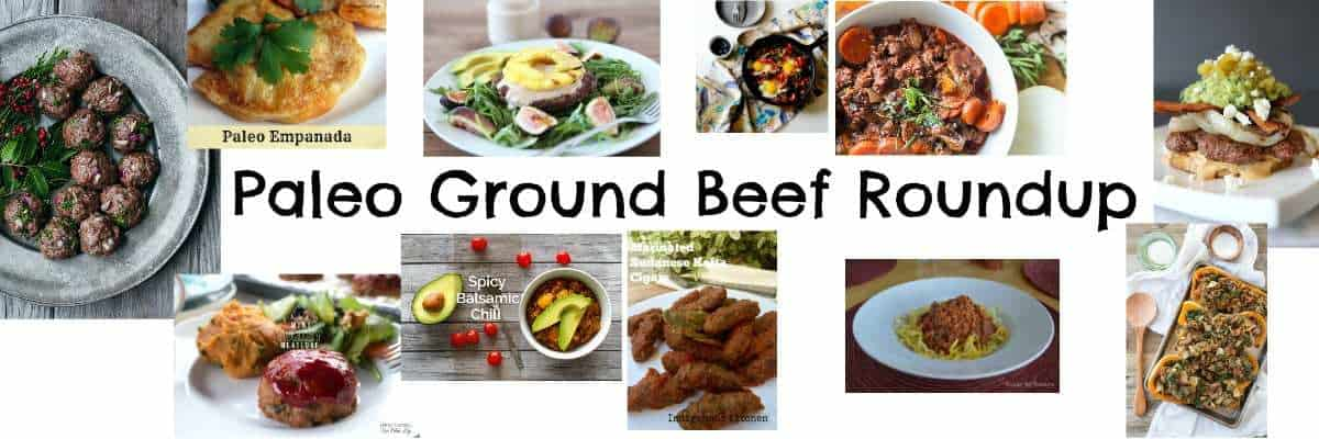 Paleo Ground Beef Roundup