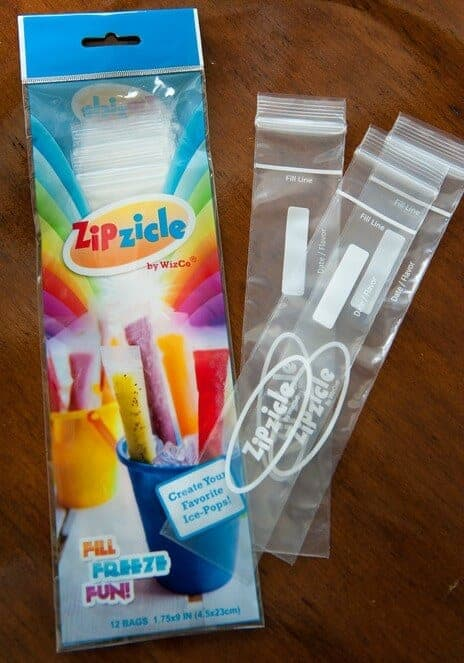 Portable Popsicle wrappers by Zipzicles