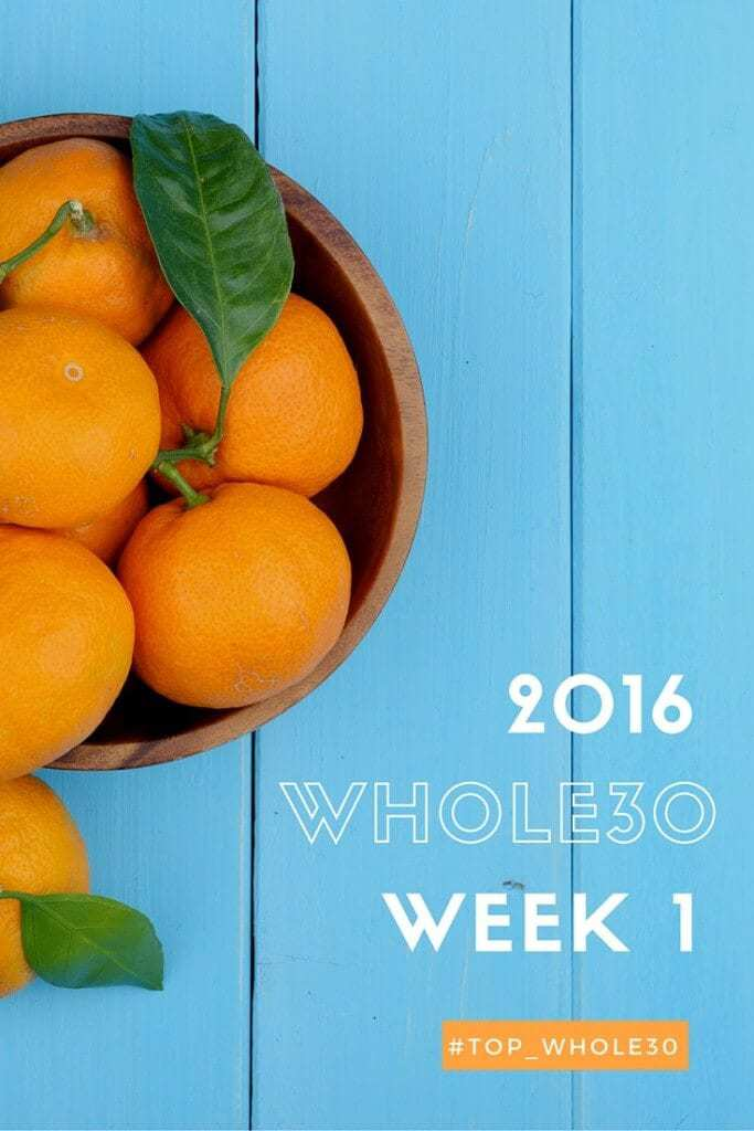 Inside My Whole30 Week 1 - by Michele Spring of Thriving On Paleo. I share tips on how to survive your first week and show you all the meals and snacks I ate.
