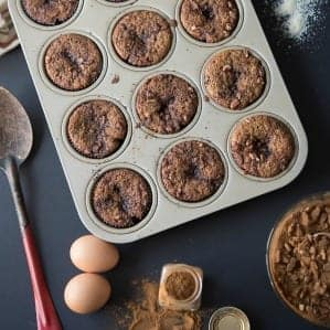 Paleo and gluten-free Cinnamon Roll muffins recipe
