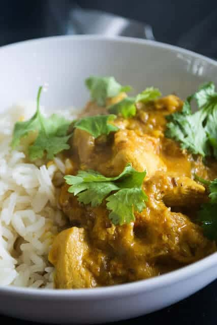 Child-friendly Paleo chicken curry