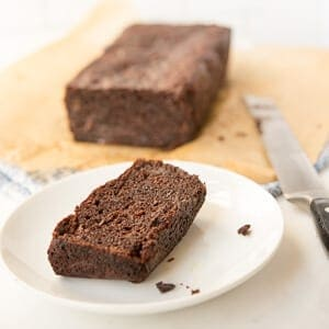 Paleo Chocolate Zucchini Bread - a grain-free and gluten-free snack or breakfast recipe that is moist and super flavorful