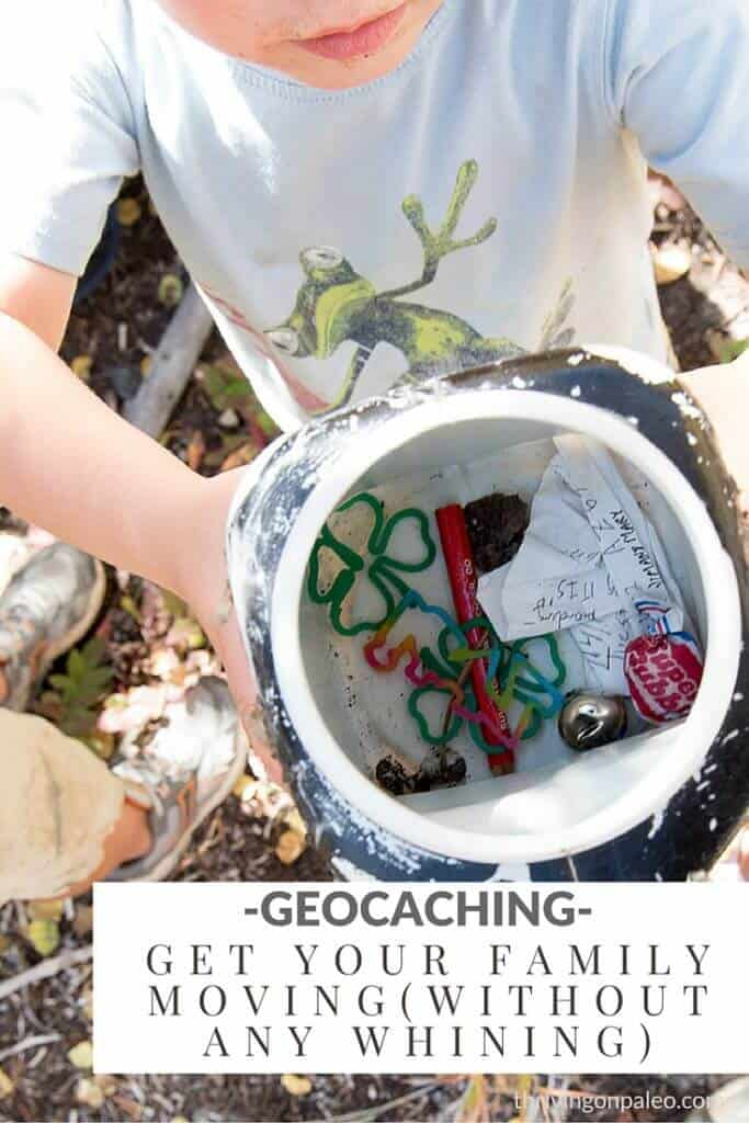 "Whether you are 2 or 102, geocaching is a fun modern day treasure hunt. It is also a very good way to get outdoors and get some exercise without actually having to ""exercise""."