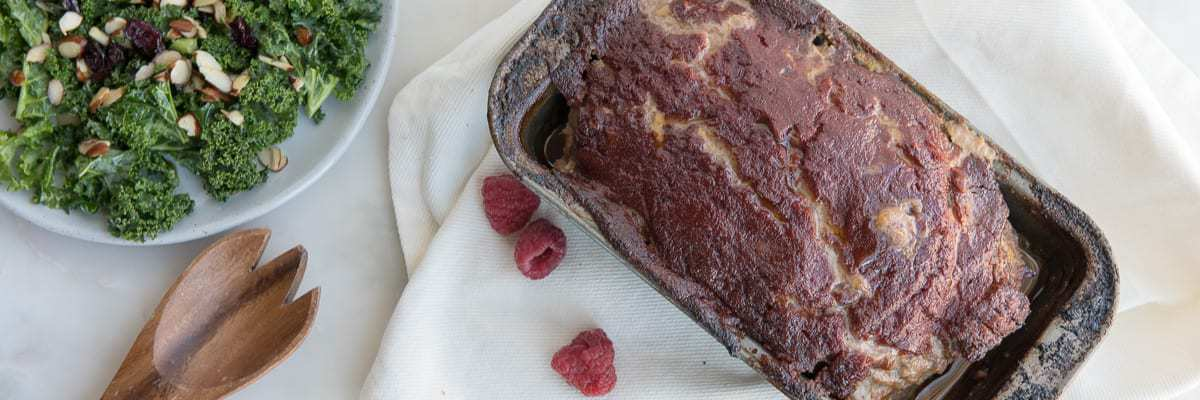 Raspberry Chipotle Meatloaf