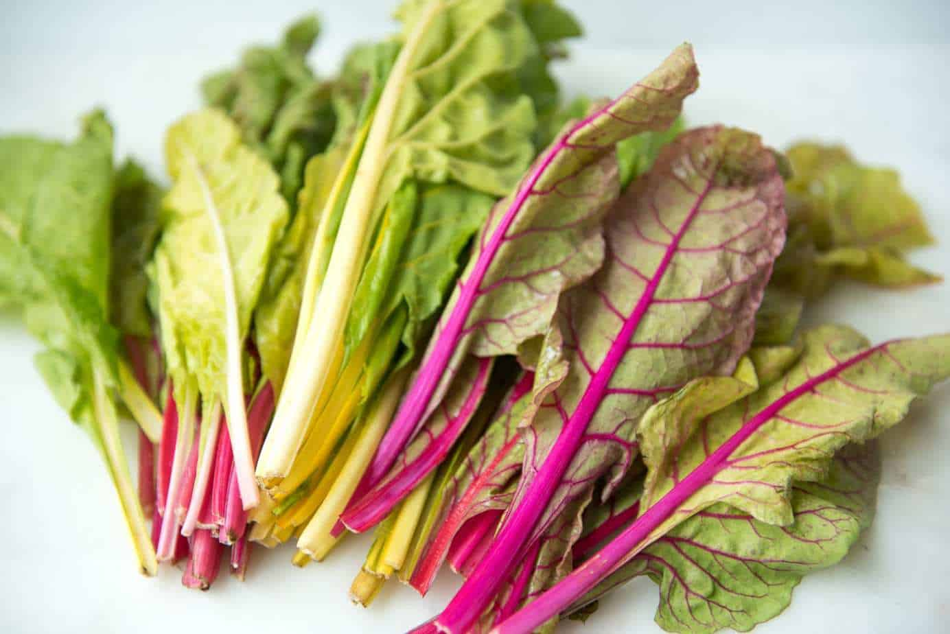 Braised Rainbow Chard - a Paleo, gluten-free, vegetarian, and vegan side dish recipe