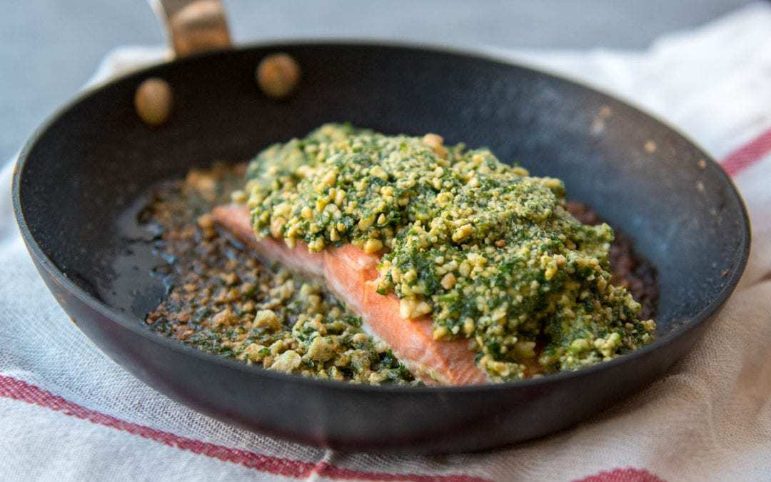 This Keto Salmon Recipe Was So Good I Licked My Plate