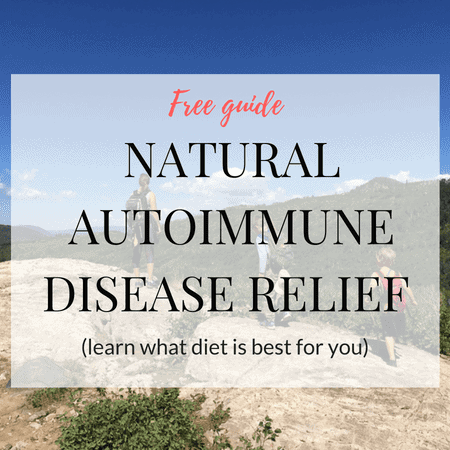 Free Natural Autoimmune Disease relief guide graphic