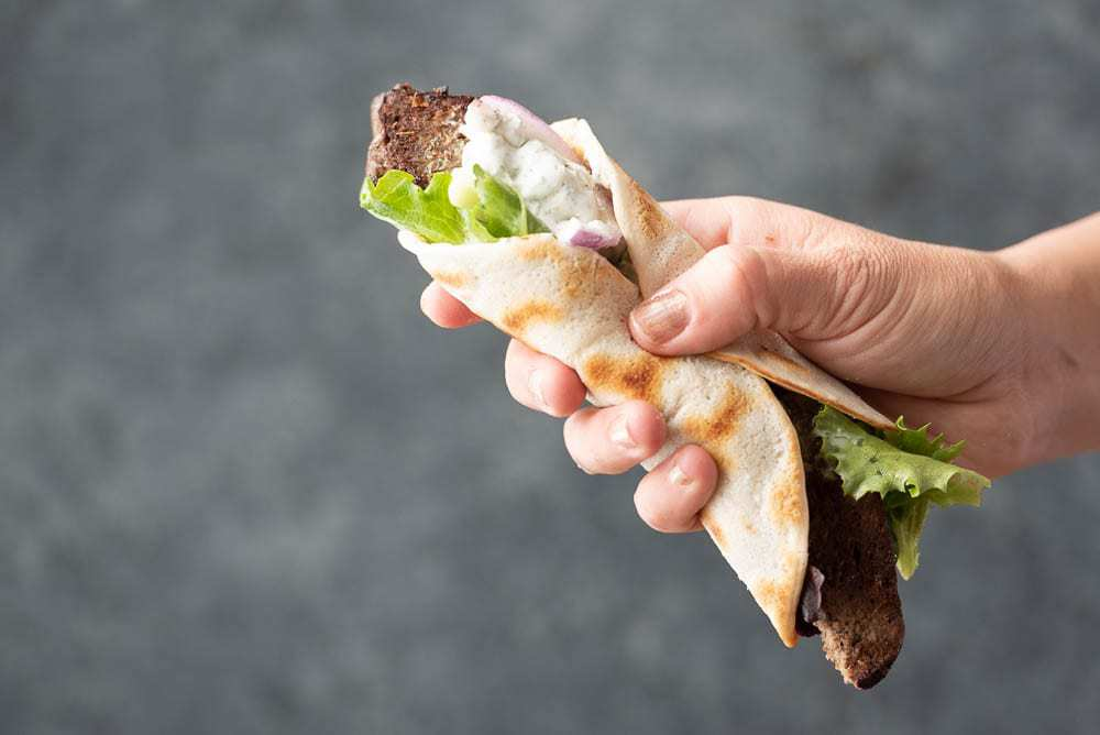 Autoimmune Paleo AIP diet Gyro Wrap Sandwich Recipe
