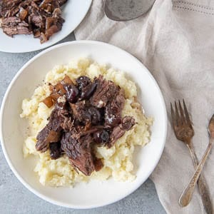 Cherry Balsamic Pot Roast