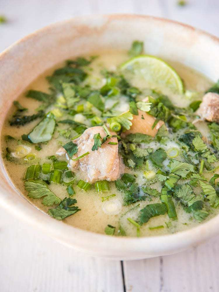 AIP Thai Chicken Soup - vertical view