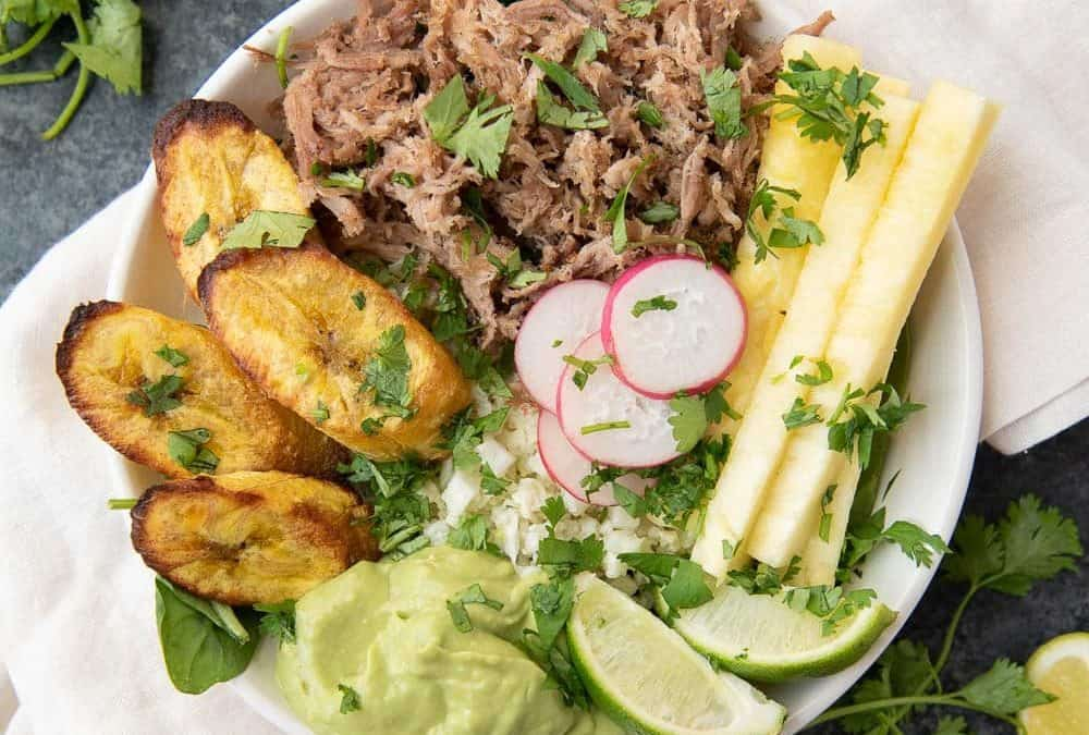 Pork and Pineapple Bowl (Paleo, Whole30, AIP)