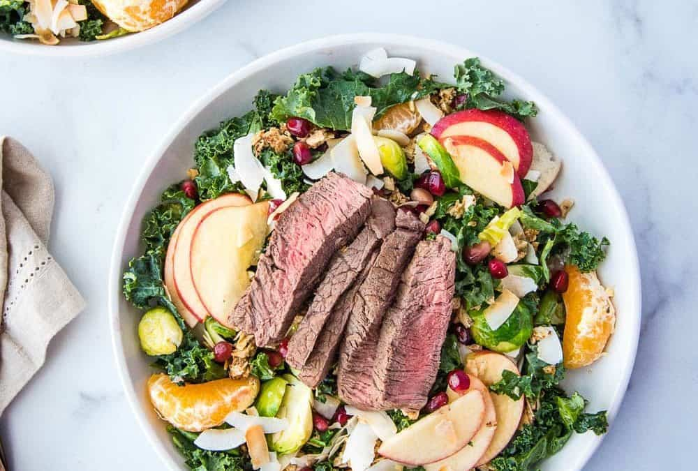 Winter Steak Salad (Paleo, Whole30, AIP)